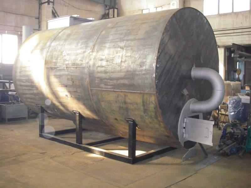 линия для производства древесного угля